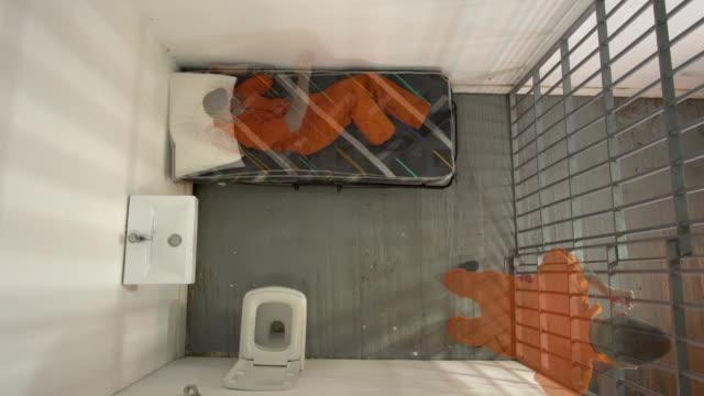 4K AERIAL: Male Prisoner frustration compilation video