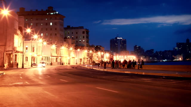 Malecon Havana, Cuba video