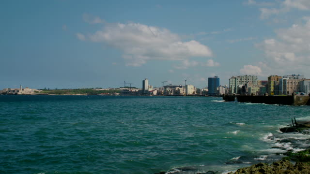 Malecon View, Havana, Cuba video