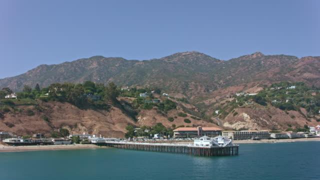 AERIAL Malibu Pier in Malibu, California