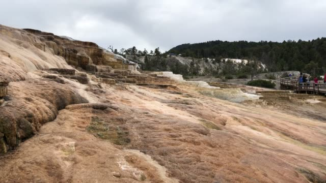 Mammoth Hot Springs and the North in Yellowstone National Park video