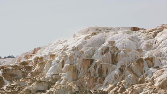 Mammoth Hot Springs Terraces. video