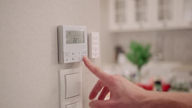 Mann Einstellung digitaler thermostat – Video