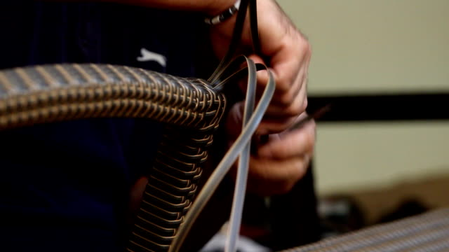 Man and rattan video