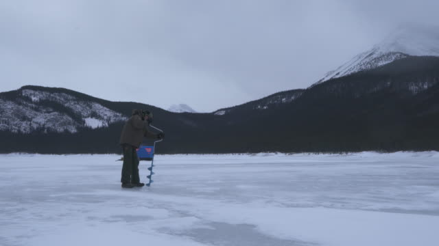 38 Ice Auger Stock Videos and Royalty-Free Footage - iStock