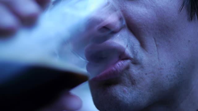 Man Drinks Beer video