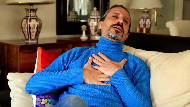 Man having heart attack video
