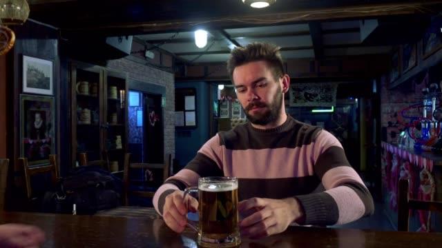 Man highfives with bartender video