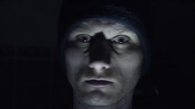 Man in fear video