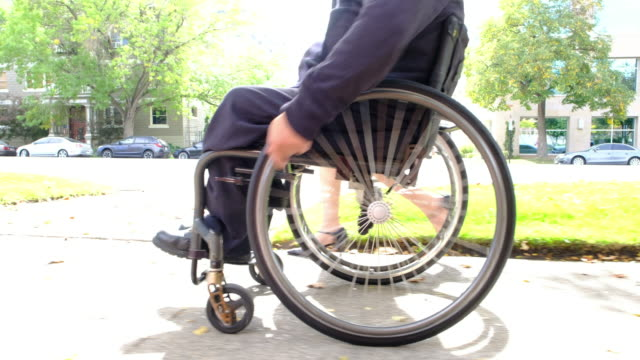 Man in Wheelchair video