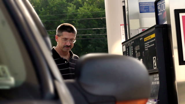 Man is enraged at the local gas prices near his home video