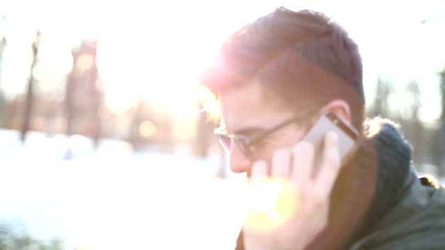 Man on the phone video