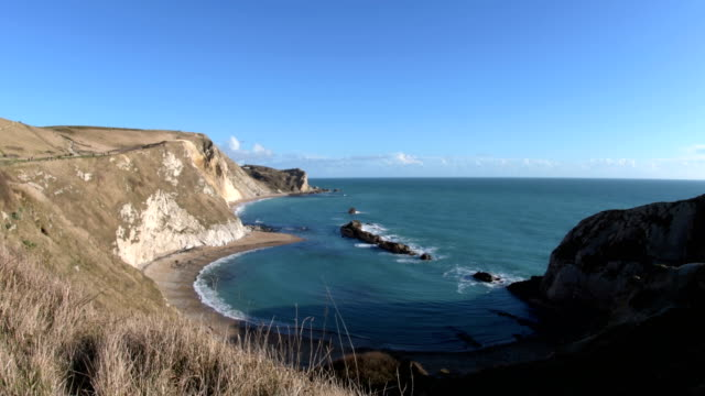 Man O'War Beach - Lulworth Cove - Jurassic Coast video