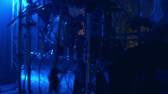 Man Playing Drums Drummer performing on stage. Bangkok, Thailand. classical concert stock videos & royalty-free footage