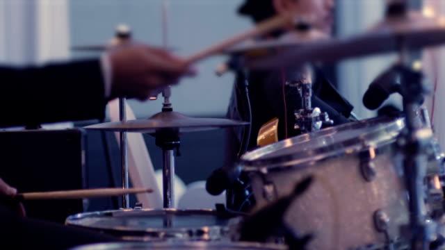 Man Playing Drums video