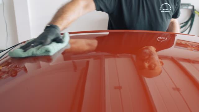 MS Man polishing car
