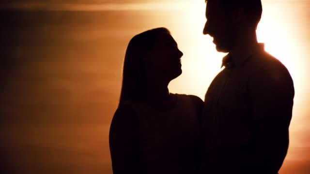 Man Proposing to Girlfriend at Sunset video