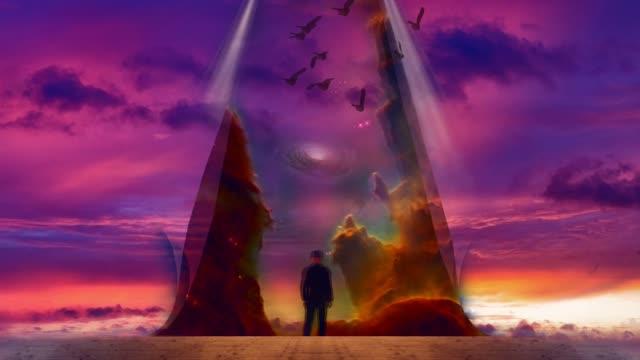 Man reveals the sky