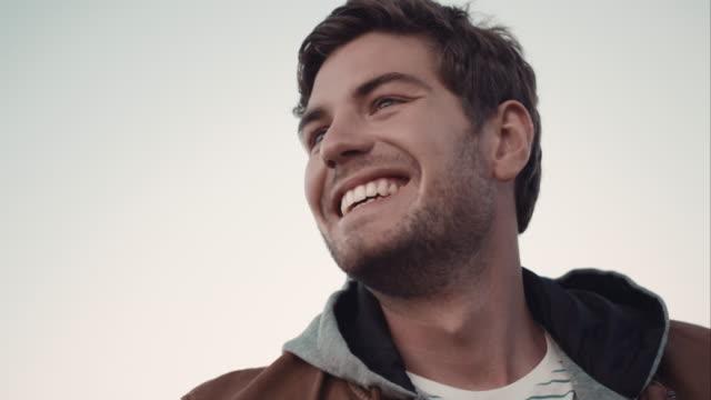 Man smiling video