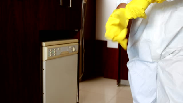 Man standing in a kitchen video