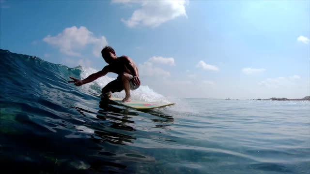 Man surfer video