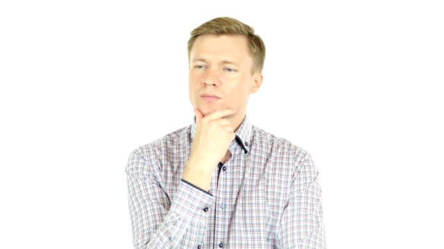 Man thinking video