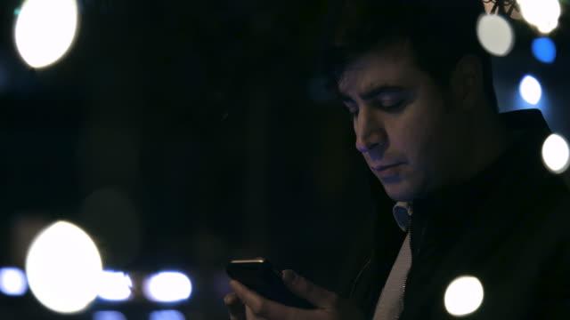 Man Using Phone 3 video