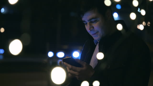 Man Using Phone 4 video