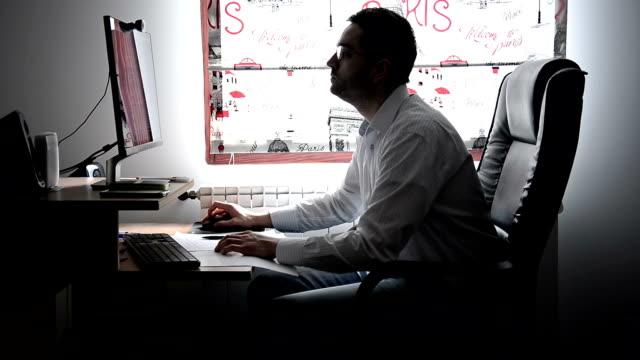 Man working video