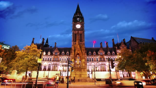 Manchester Town Hall, UK video