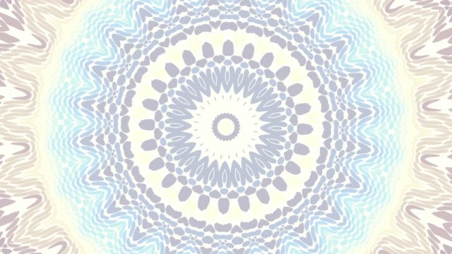 vídeos de stock e filmes b-roll de mandala loop background - mandala