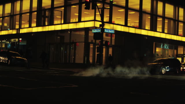 Manhattan At Night_Madison Ave East 42nd St video
