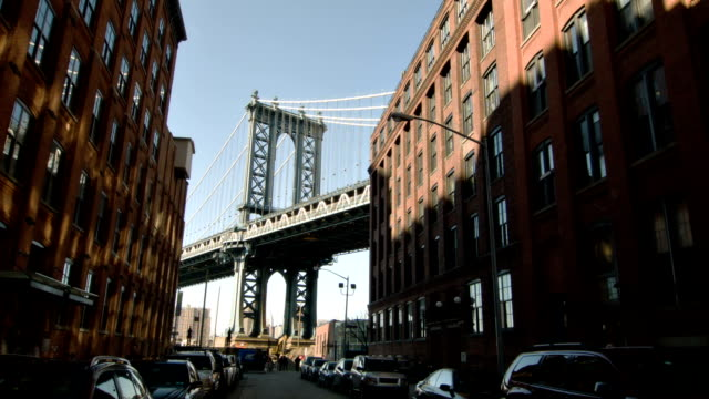 Manhattan bridge in New York video