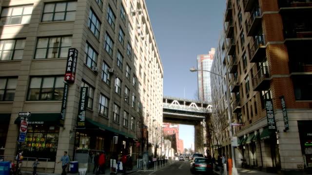 マンハッタン bridge - 煉瓦点の映像素材/bロール
