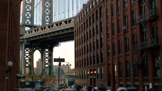 Manhattan Bridge view video