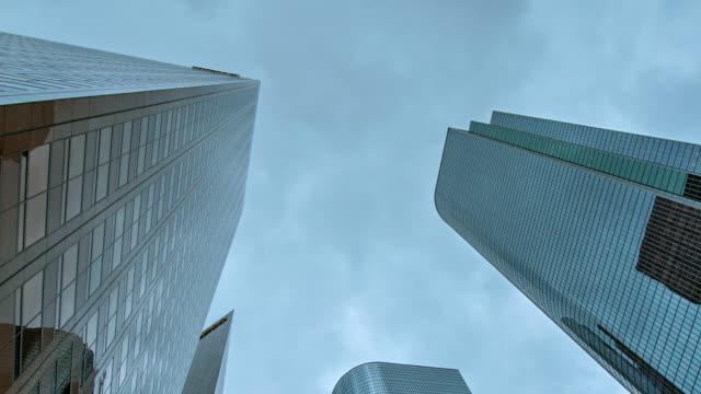 Manhattan buildings in New York video