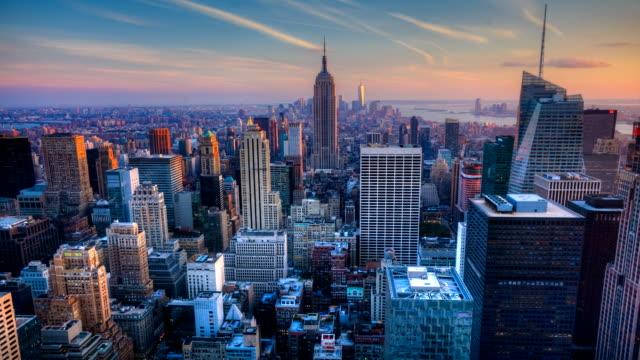 Manhattan Day to Night Timelapse