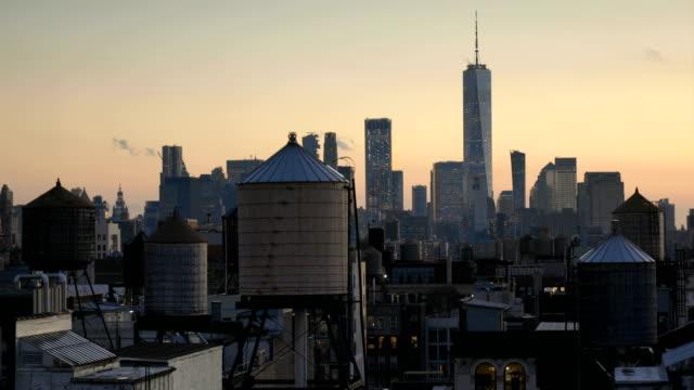 Manhattan Downtown Sunset Views