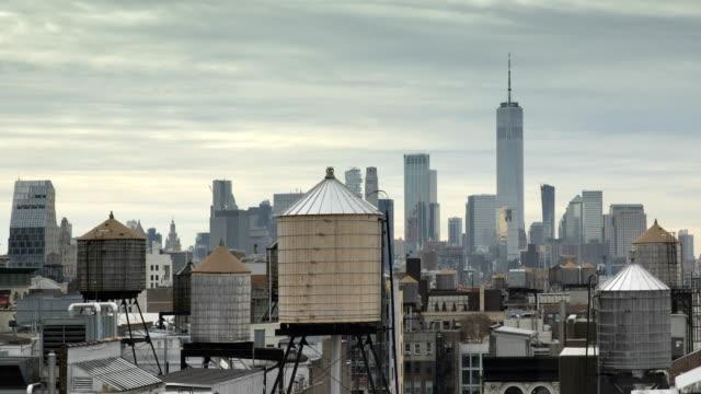 Manhattan Downtown Time Lapse