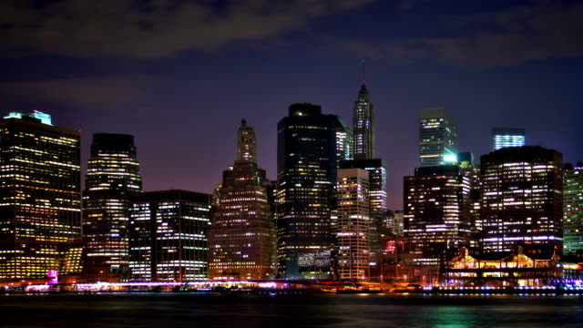Manhattan downtown video