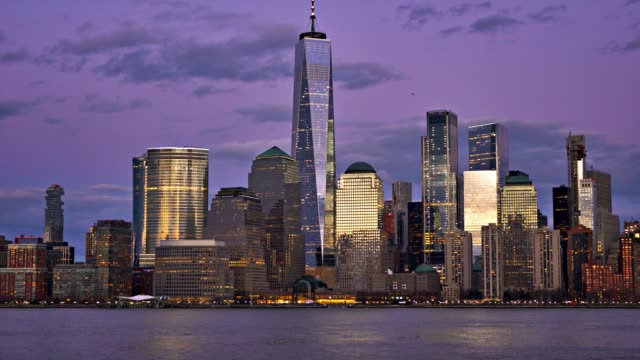 Manhattan Financial District. Freedom Tower. Conceptual View