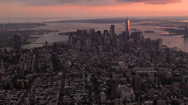 Manhattan from above video