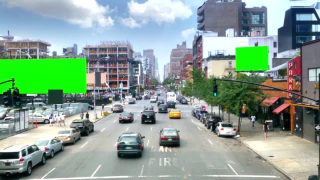Manhattan Green Screen Billboards video