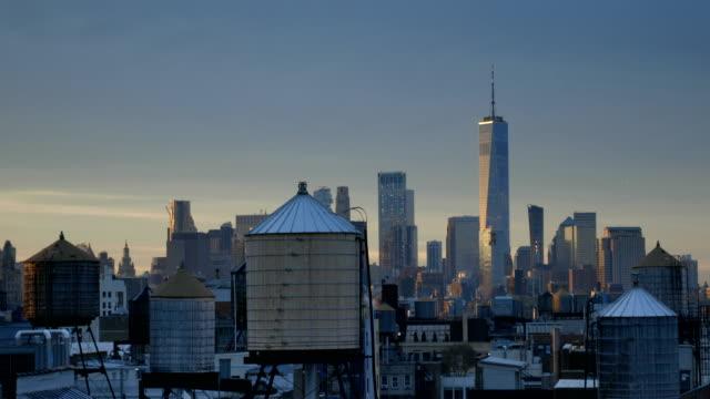 Manhattan Morning Downtown Views