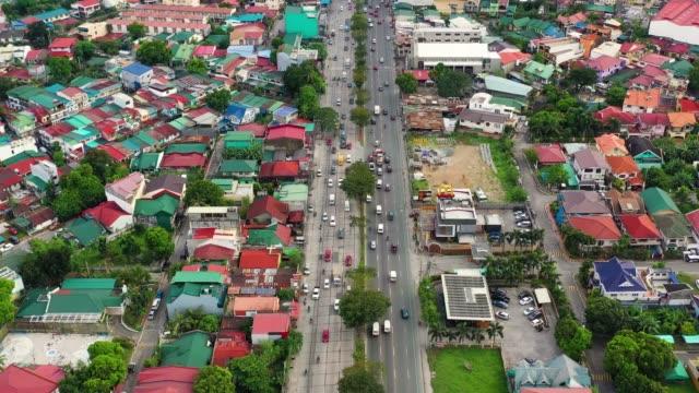 manila, la capitale delle filippine - filippino video stock e b–roll