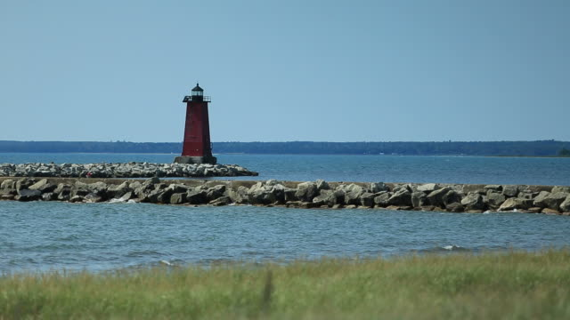 Manistique East Breakwater, MI video