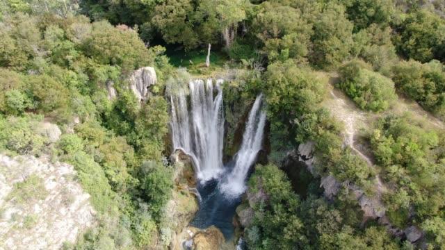 Manojlovac - tallest waterfall in Krka National Park in Damaltia, Croatia