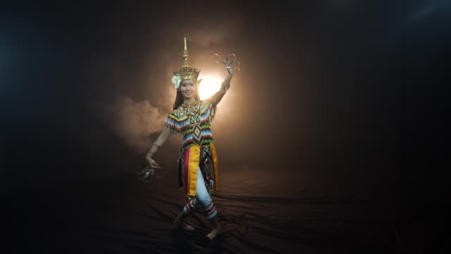Manora dance is a traditional dance performance art of the South
