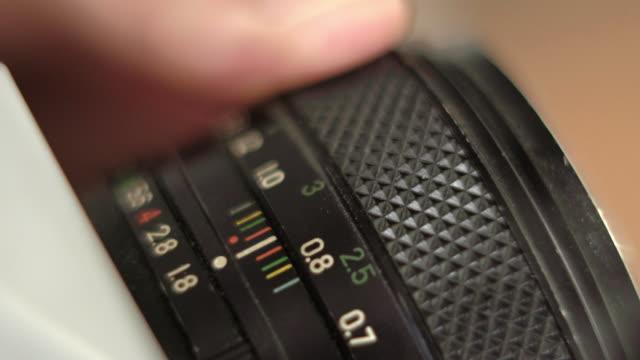 Manual Camera Lens Controls