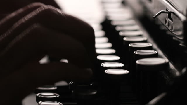 Manual Typewriter video